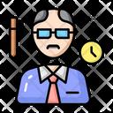 Professor Teacher School Icon