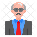 Professor Teacher Math Icon