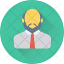 Professor Teacher Banker Icon