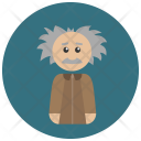 Professor Albert Einstein Icon