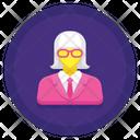 Professor Female Icon