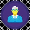 Professor Male Icon
