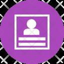 Profile User Information Icon