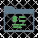 Profile Document Cv Icon
