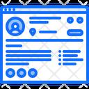 Profile User Website Icon