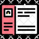 Account Blog Interface Icon
