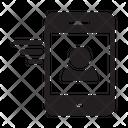 Mobile Profile Phone Icon