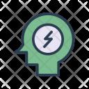 Persons Profile Mind Icon