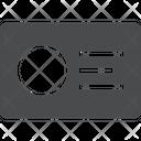 Id Card Profile Card Identification Card Icon