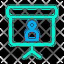 Profile Blackboard Icon