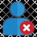 Skip User Skip Profile Security Icon