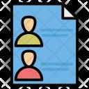 Biodata Profile User Icon