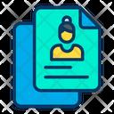 Profile Document Icon