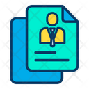 Profile Document Icon