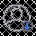 Profile download Icon