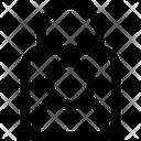 Profile Lock Account Lock Padlock Icon