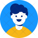 Young Man Guy Portrait Icon