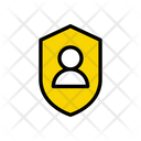Profile Secure Protection Icon
