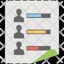 Customer Engagement Chart Icon