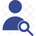 Account Profile Search Icon