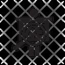 Profile Human Resource Employee Icon