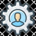 Person Gear Human Icon