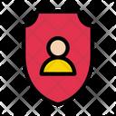 Profile Shield User Shield Secure Icon
