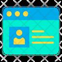 Profile Website Icon