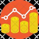 Monopolistic Competition Profit Icon