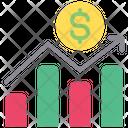 Profit Graph Money Growthmchart Icon
