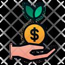Profit Growth Roi Icon