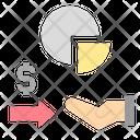 Divestiture Profit Share Icon