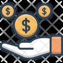 Profit Revenue Wages Icon