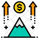 Business Mission Growth Icon