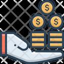 Profit Benefit Advantage Icon