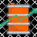 Stock Market Barrel Icon