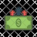 Growth Dollar Cash Icon