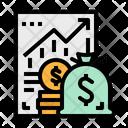 Profit Money Bag Icon