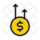 Growth Profit Insurance Icon