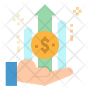 Money Income Growth Icon