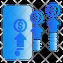 Phone Digital Marketing Advertising Icon