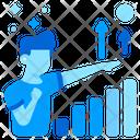 Profit Increase Growth Icon