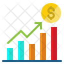 Profit Bussiness Growth Icon