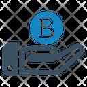 Bit Bitcoin Coin Icon