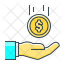 Coin Finance Funding Icon