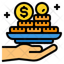 Money Profit Coins Icon