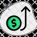 Dollar Rises Icon