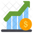 Profit Growth Investment Icon
