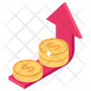 Growth Chart Sales Growth Increase Graph Icon