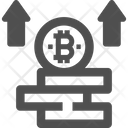 Profit Bitcoin Profit Bitcoin Gaining Icon